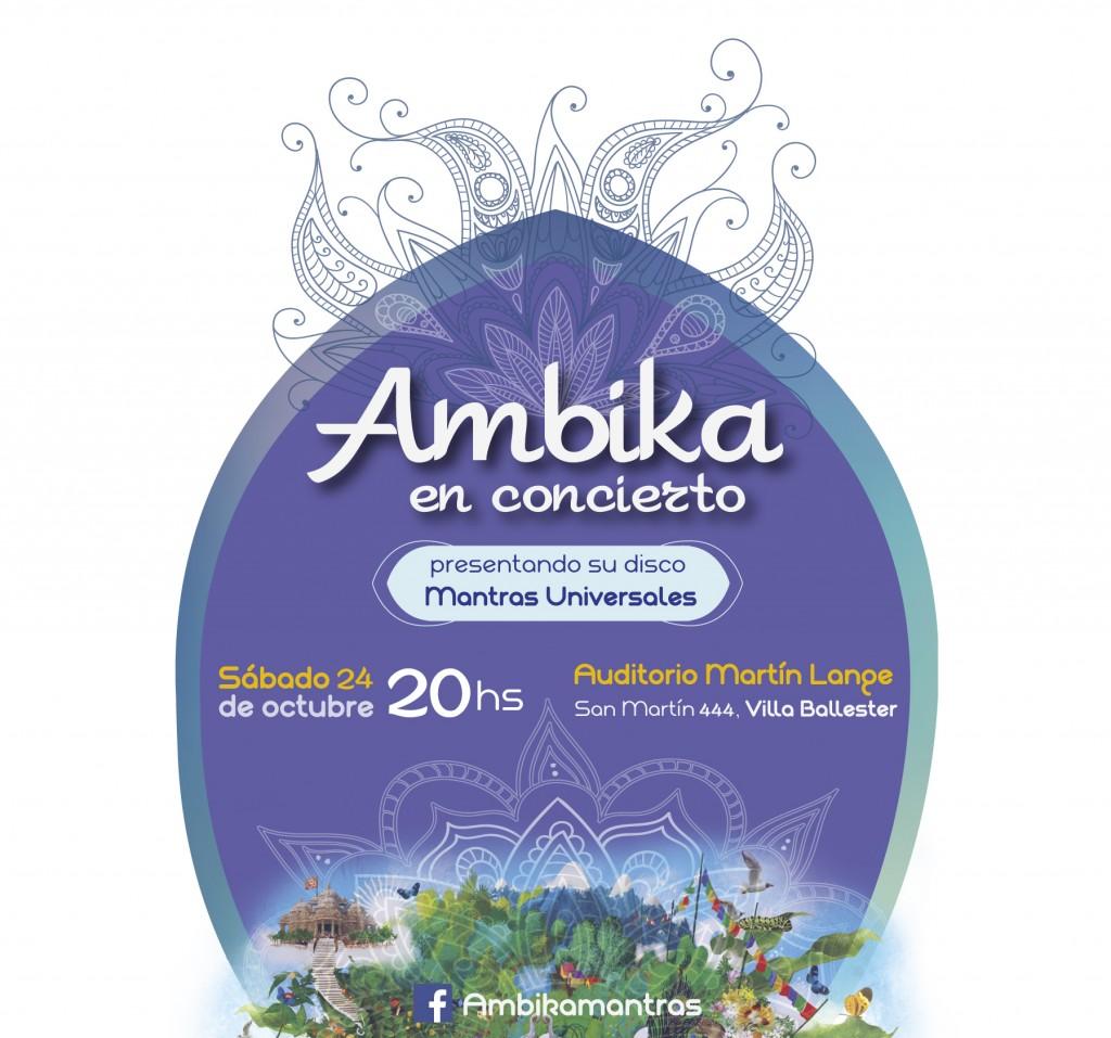 Ambika en concierto WEB