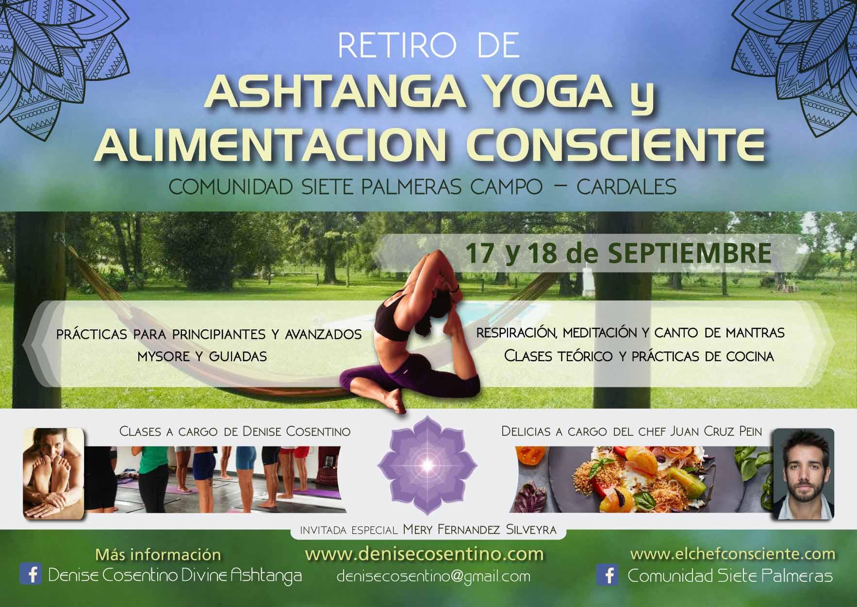 Intensivo Ashtanga Yoga y Alimentación Consciente